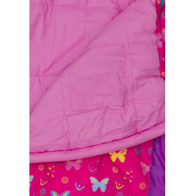 Grüezi-Bag Grow Bttrfly Śpiwór Dzieci różowy/fioletowy